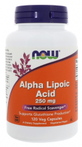 NOW Alpha Lipoic Acid 250 mg (120 капс)