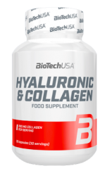 BioTech USA Hyaluronic & Collagen (30 капс)