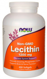 NOW Lecithin 1200 mg (400 кап)
