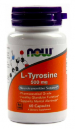NOW L-Tyrosine 500 mg (60 кап)