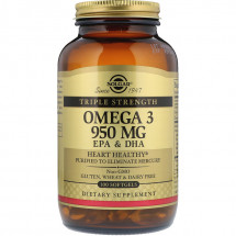 Solgar Omega-3 950 мг EPA & DHA Triple Strength (100 кап)