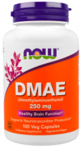 NOW DMAE 250 мг (100 капс)