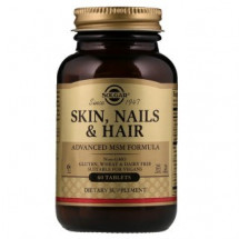 Solgar Skin Nails Hair Advanced MSM Formula (60 таб)